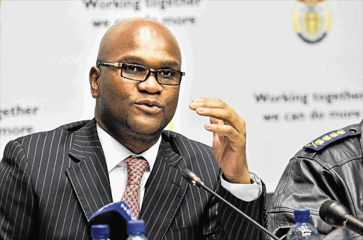 Arts and culture minister Nathi Mthethwa addressed attendees at the SA film summit, held in Johannesburg central, on Monday, January 4, 2019.
