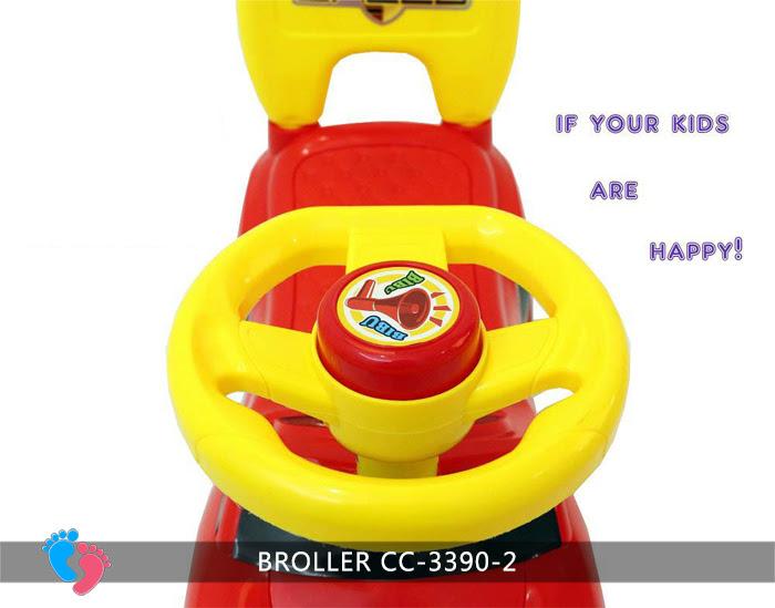 Chòi chân ô tô cho bé Broller CC-3390-2 19