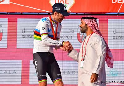 Ritwinnaar Valverde draagt eerste overwinning in regenboogtrui op aan speciaal iemand, Roglic reageert op leidersplaats