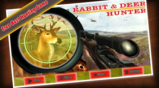 Deer And Rabbit Hunter