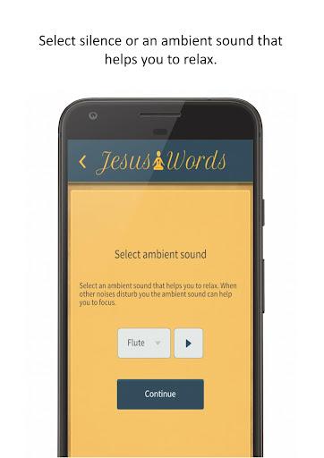 Jesus Words Meditation 1.280 screenshots 2