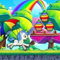 Unicorn Dash 2: Jungle Castle Run Adventure icon