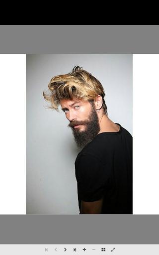 男性のひげのスタイル