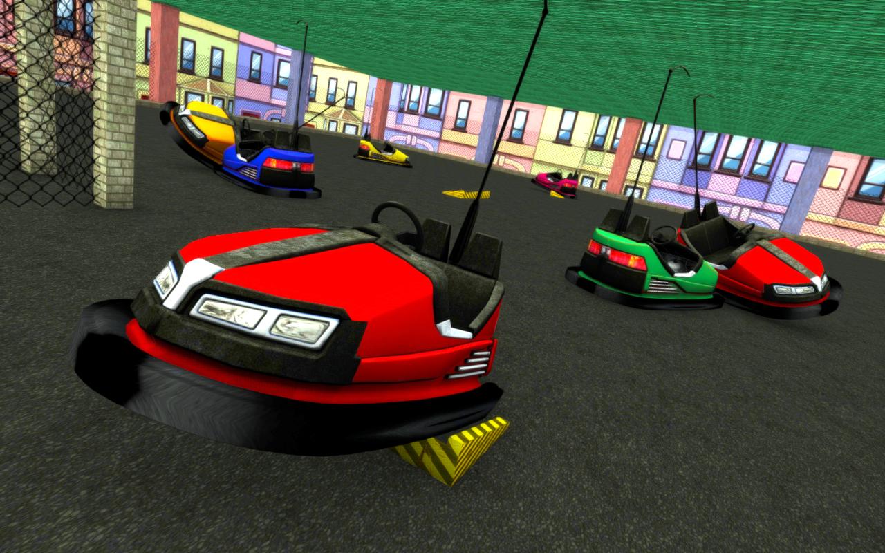Design of a car bumper - Bumper Cars Unlimited Fun Screenshot