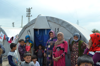 Photo: A camp for Kurdish Internally Displaced People's in Suruç