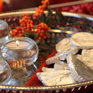 Badam Katli / Barfi and Happy Diwali!