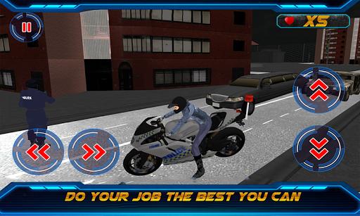 バイクの警官エクストリーム3Dチェイス