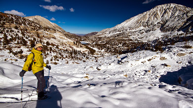 Photo: Looking back at the Little Lakes Valley