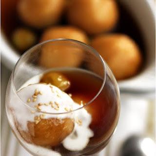 Che Xoi Nuoc – Mochi Dumpling in Ginger Sauce.