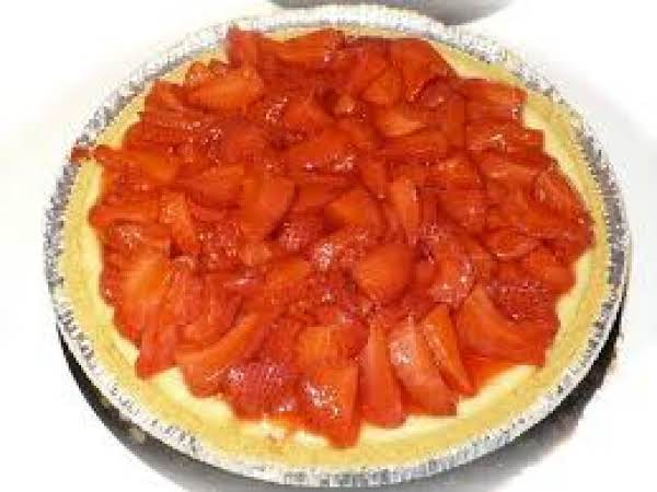 Strawberry Philadelphia Cream Cheese Pie
