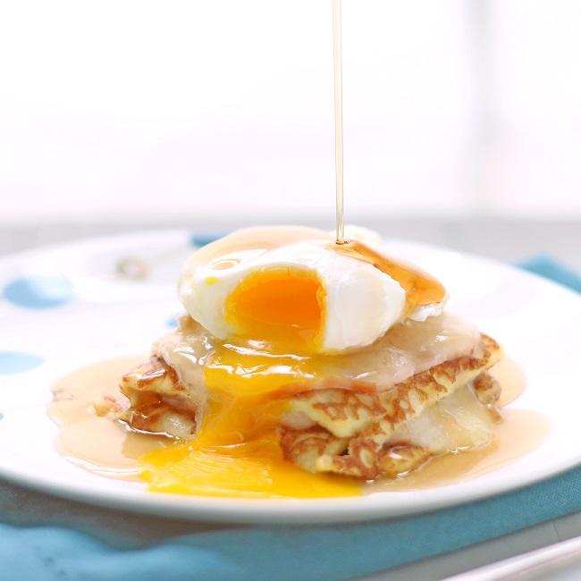 Monte Cristo Breakfast Casserole (Low Carb and Gluten Free) Recipe