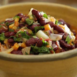 Turkish Kidney Bean Salad (Barbunya Pilaki)