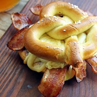 FARMER JOHN® Bacon Grilled Cheese Pretzel Sandwich