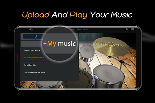 Easy Real Drums-Real Rock and jazz Drum music game 1.2.4 Mod screenshots 4