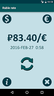 Ruble Rate Real-Time Ad-Free - náhled