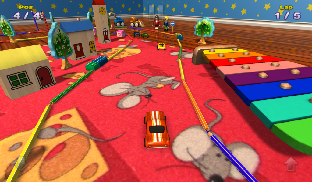 Playroom Racer 2- screenshot