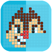Mirror Mosaic : Symmetry Puzzles