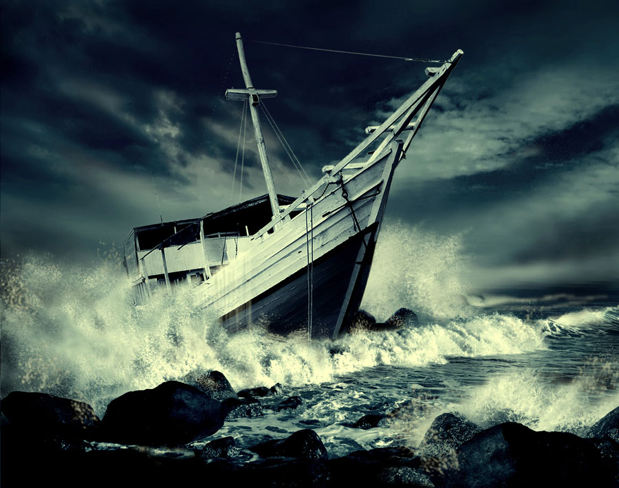 Crashing Waves by Ahay Gart - Digital Art Things
