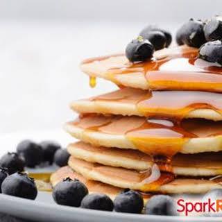 Dairy-Free Protein Powder Pancakes.