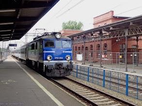 """Photo: EP07-1030, TLK """"San"""" Bydgoszcz Główna - Przemyśl Główny {Toruń Główny; 2014-07-13}"""