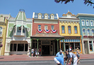 Photo: Tarps and walls are finally down on Main Street. Most of the facades had significant work done along with roof work.