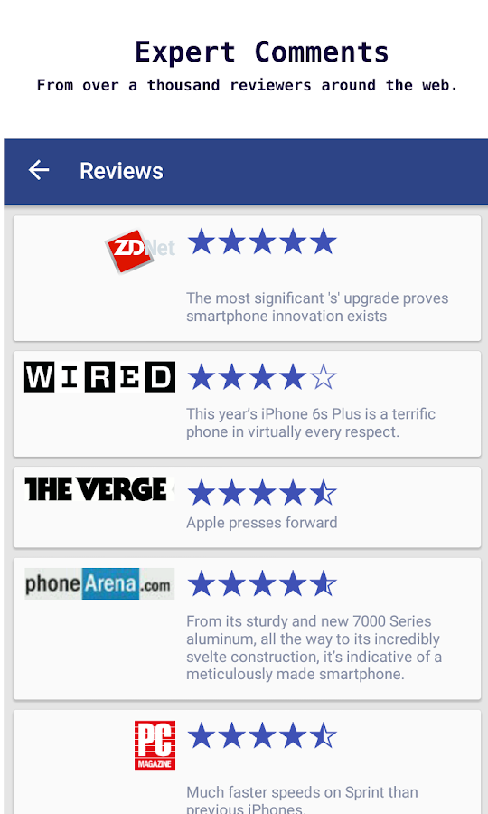 ReviewGist - Reviews To Go- screenshot