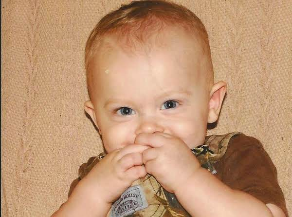 And Last But Far From Least Is Our Newest Addition.  This Is David And Audrey's Son Evan.  The Family Goes On.
