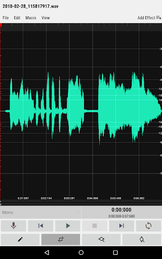 WaveEditor for Androidu2122 Audio Recorder & Editor 1.0 screenshots 10