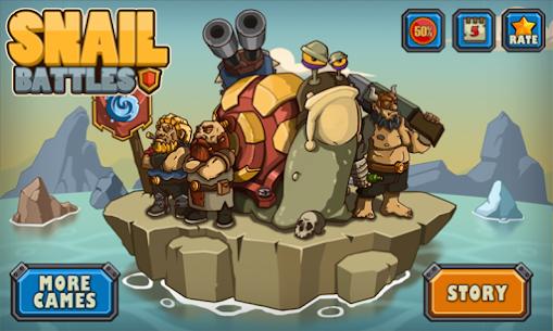 Snail Battles 1.0.4 Mod APK Updated 1