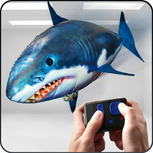 RC Flying Shark Simulator Game