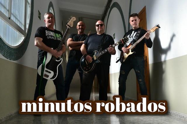 Minutos Robados es una banda almeriense que, poco a poco, ha consolidado un estilo propio.