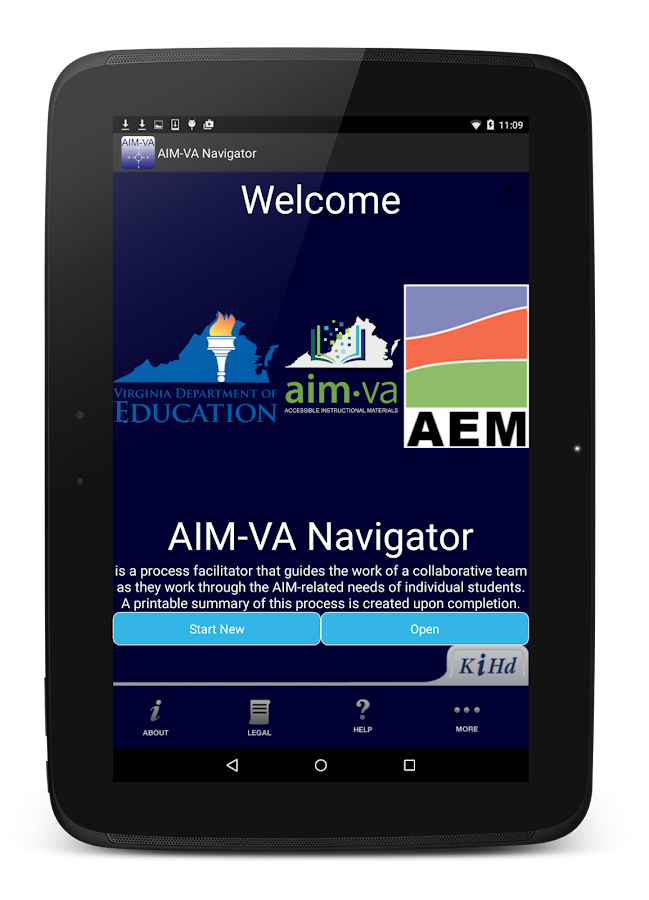 AIM-VA Navigator- screenshot