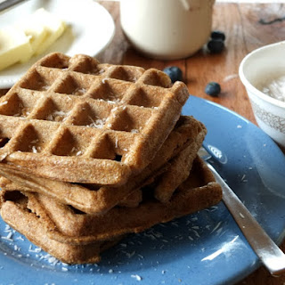 Paleo Coconut Flour Waffles (low-carb, nut-free)