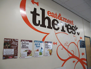 Photo: Eat and Meet area in the Student Union, St. John's Campus