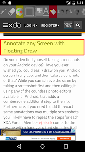 Floating Draw- screenshot thumbnail
