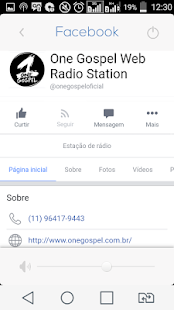 One Gospel Web Radio Station Brazil - náhled