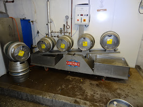 Photo: Hawkshead new cask washer. High-tech in action!