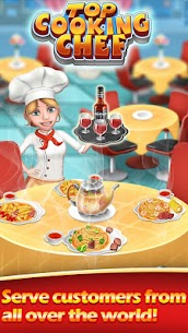 Top Cooking Chef MOD Apk 11.1.3977 (Unlimited Money) 1