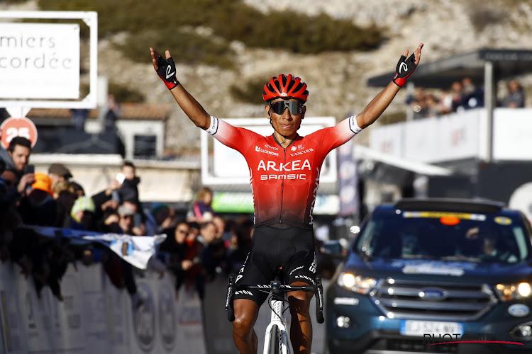 Geen blessure bij Nairo Quintana: Colombiaan start als kopman voor Arkéa-Samsic in de Tour de France