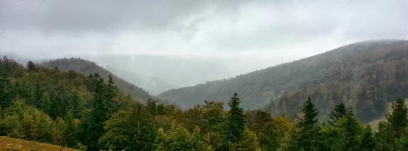 Photo: Paysage vosgien vers le Breitfirst, non loin de la Route des Crètes
