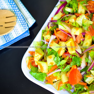 Lettuce Avocado Tomato Cucumber Salad Recipes