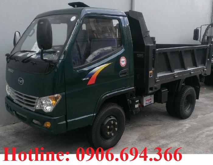 Bán xe ben 2.4 tấn 2 khối máy hyundai giá cạnh tranh nhất tại tp HCM