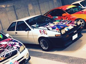 スプリンタートレノ  GT-APEX 58年式のカスタム事例画像 でんのすけさんの2018年07月31日14:46の投稿