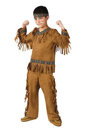 Indiandräkt, barn
