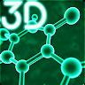 Particle Molecules 3D Live Wallpaper icon