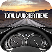 CAR theme for Total Launcher