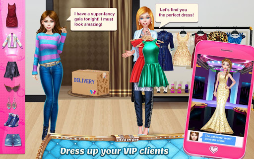 Stylist Girl - Make Me Gorgeous! 1.0.2 screenshots 1
