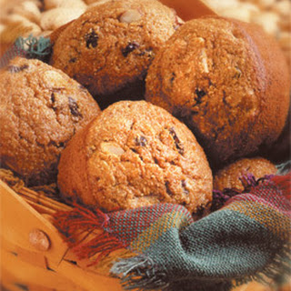 Fall Harvest Whole Wheat Muffins