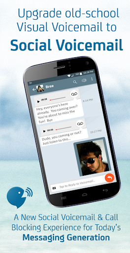YouVOXX Voicemail, Call Blocker screenshot 5