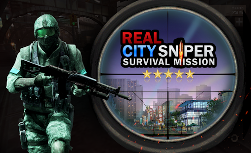 Real City Sniper Survival Mission - Commando FPS - náhled
